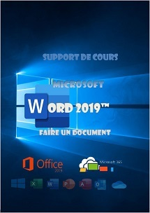 support de cours Word 2019 initiation