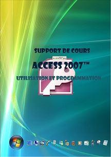 cours access 2007 utilisation programmation