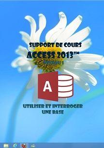 licence du cours access 2013 utilisation