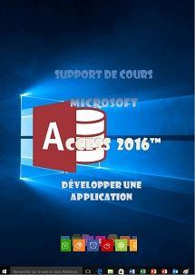 licence du cours access 2016 programmation
