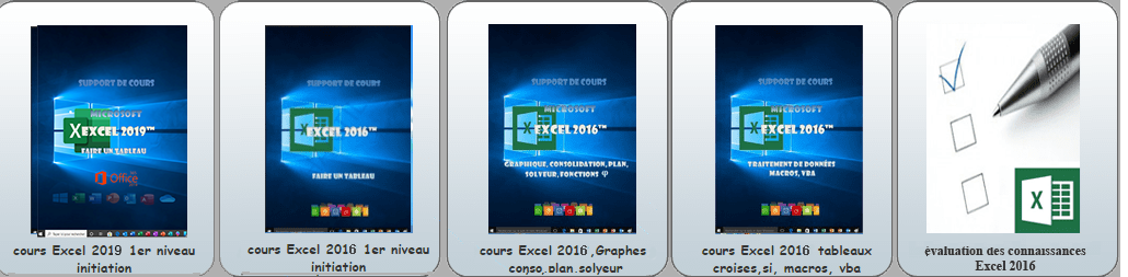 supports de cours Excel