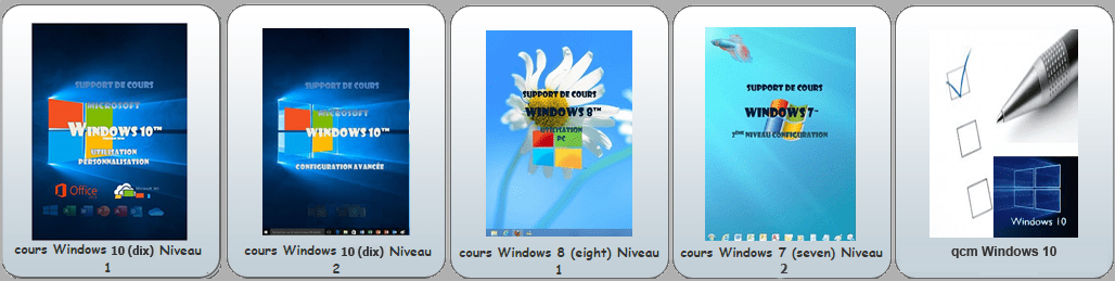 Supports de cours Windows