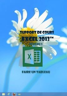support de cours Excel 2013 1er niveau initiation