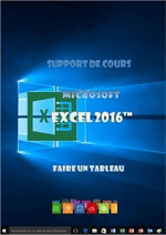 support de cours Excel 2016 1er niveau initiation