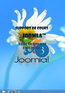 support de cours Joomla 3, creer un site web