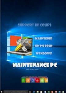 support de cours configuration maintenance pc windows