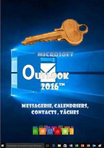 cours en ligne Outlook 2016, messagerie, calendrier, contacts