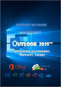 support de cours Outlook 2019