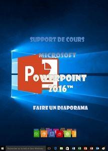 licence du cours Powerpoint 2016 utilisation