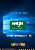support de cours SAGE gestion commerciale i7 Version 8