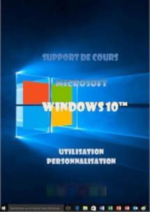 support de cours Windows 10 (dix) Niveau 1