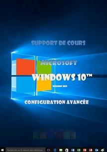 cours Windows 10 configuration