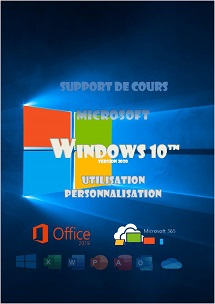 support de cours Windows 10 (dix) Niveau 1 - version 2020