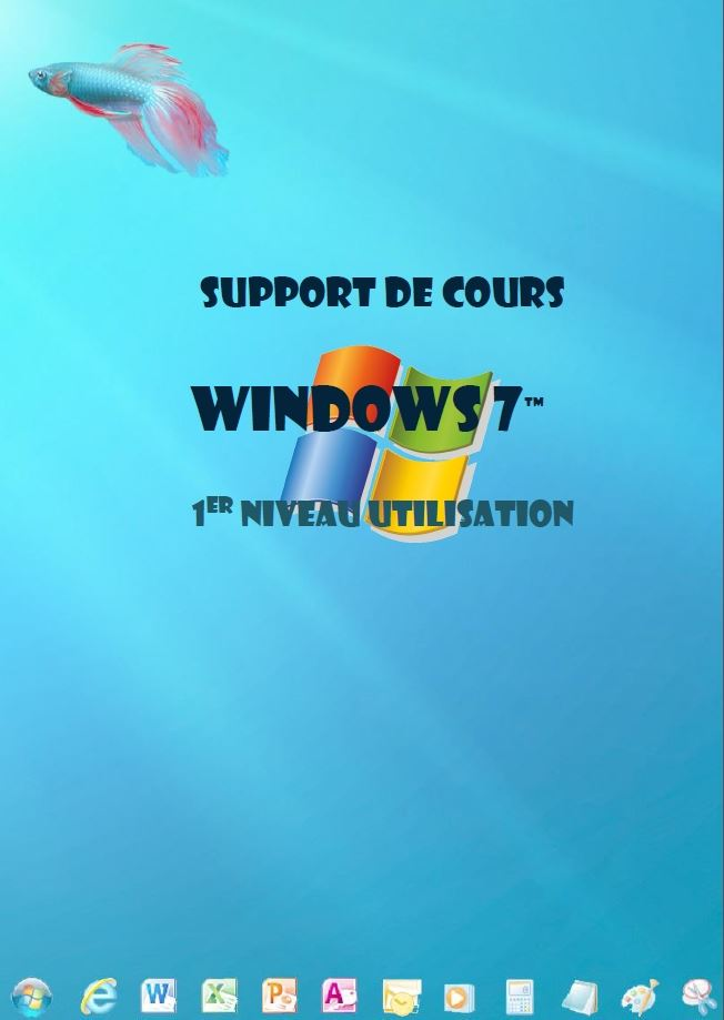 support de cours Windows 7 (seven) Niveau 1