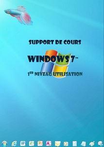 licence du cours windows7 utilisation
