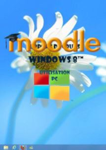 cours moodle Windows 8 (eight) Niveau 1